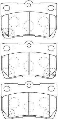 AISIN A2N118 | Колодки тормозные | Купить в интернет-магазине Макс-Плюс: Автозапчасти в наличии и под заказ