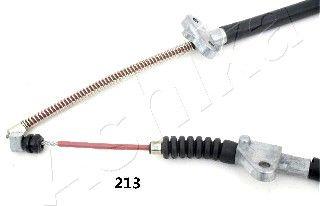 ASHIKA 13102213 | трос ручного тормоза | Купить в интернет-магазине Макс-Плюс: Автозапчасти в наличии и под заказ