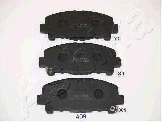 ASHIKA 5004409 | Колодки тормозные передние к-кт | Купить в интернет-магазине Макс-Плюс: Автозапчасти в наличии и под заказ