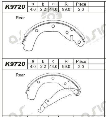 ASIMCO K9720 | Опора амортизаторной стойки | Купить в интернет-магазине Макс-Плюс: Автозапчасти в наличии и под заказ