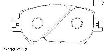 ASIMCO KD2739 | PAD KIT, DISC BRAKE | Купить в интернет-магазине Макс-Плюс: Автозапчасти в наличии и под заказ