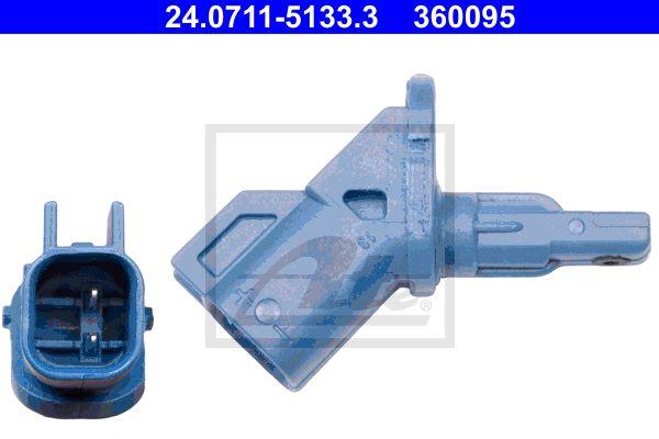 ATE 24071151333 | датчик ABS !передний\ Ford Mondeo/Focus/Kuga 1.4-2.5/2.0TDCi 03> | Купить в интернет-магазине Макс-Плюс: Автозапчасти в наличии и под заказ