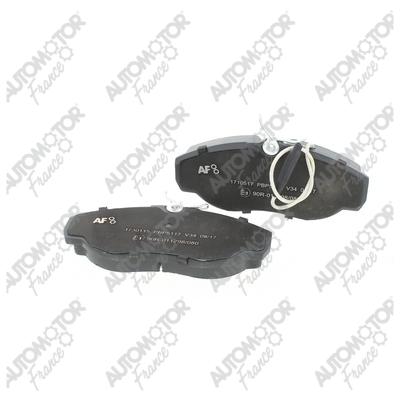AUTOMOTOR FRANCE PBP5117 | Колодки тормозные передние Ducato 94-> | Купить в интернет-магазине Макс-Плюс: Автозапчасти в наличии и под заказ