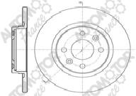 AUTOMOTOR FRANCE PDC2015 | Диск тормозной передний Рено Logan +/-ABS | Купить в интернет-магазине Макс-Плюс: Автозапчасти в наличии и под заказ