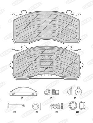 BERAL 2918327004145503 | Колодки тормозные дисковые | Купить в интернет-магазине Макс-Плюс: Автозапчасти в наличии и под заказ