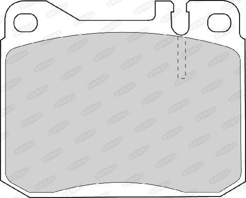 BERAL 2958115004045084 | колодки тормозные 156,3х74,2х19,6 мм Ford/Seat | Купить в интернет-магазине Макс-Плюс: Автозапчасти в наличии и под заказ
