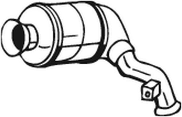 BOSAL 090001 | Катализатор | Купить в интернет-магазине Макс-Плюс: Автозапчасти в наличии и под заказ