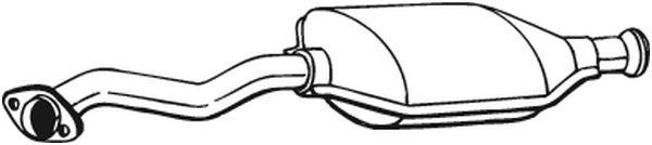 BOSAL 099606 | Катализатор | Купить в интернет-магазине Макс-Плюс: Автозапчасти в наличии и под заказ