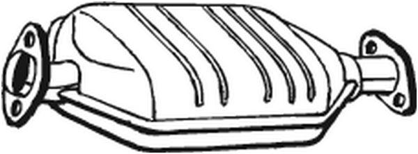BOSAL 099667 | Катализатор | Купить в интернет-магазине Макс-Плюс: Автозапчасти в наличии и под заказ