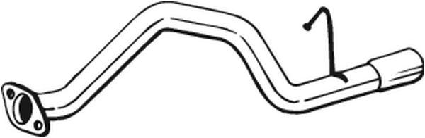 BOSAL 351219 | Трубка | Купить в интернет-магазине Макс-Плюс: Автозапчасти в наличии и под заказ
