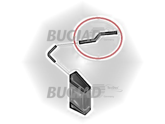 BUGIAD 87612 | Патрубок интеркулера VW Touareg 2.5 R5 TDI | Купить в интернет-магазине Макс-Плюс: Автозапчасти в наличии и под заказ
