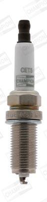 CHAMPION CET5   Свеча зажигания EON TITAN   Купить в интернет-магазине Макс-Плюс: Автозапчасти в наличии и под заказ