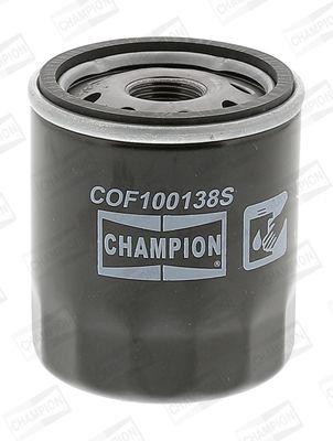 CHAMPION COF100138S   фильтр масляный! \Toyota Avensis 1.6VVTI 97-00/Yaris 1.0-1.5i 06>   Купить в интернет-магазине Макс-Плюс: Автозапчасти в наличии и под заказ