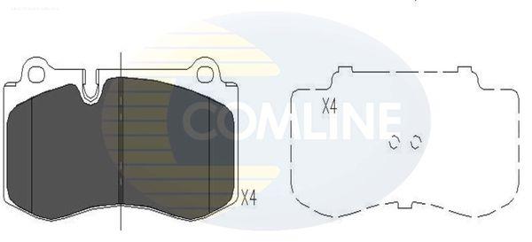 COMLINE CBP06020 | Тормозные колодки перед MB W221 10/05 - | Купить в интернет-магазине Макс-Плюс: Автозапчасти в наличии и под заказ