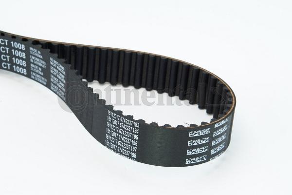 CONTITECH CT1008   Ремень ГРМ   Купить в интернет-магазине Макс-Плюс: Автозапчасти в наличии и под заказ