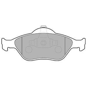 DELPHI LP1469 | Колодки тормозные, передние | Купить в интернет-магазине Макс-Плюс: Автозапчасти в наличии и под заказ