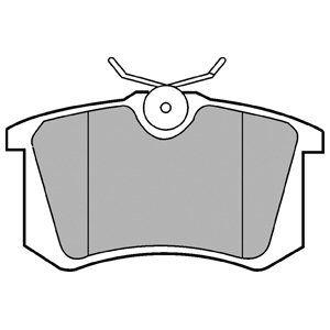 DELPHI LP571 | LP571 колодки дисковые з.\ VW Golf/Passat 1.6-2.8/1.9TDi 88-99 | Купить в интернет-магазине Макс-Плюс: Автозапчасти в наличии и под заказ