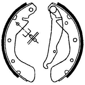 DELPHI LS1622 | Комплект тормозных колодок | Купить в интернет-магазине Макс-Плюс: Автозапчасти в наличии и под заказ