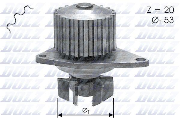 DOLZ C110   Помпа (Peugeot 306/309/405, Citroen ZX/Xsara/AX 1.0-1.4/1.4D 87>)   Купить в интернет-магазине Макс-Плюс: Автозапчасти в наличии и под заказ