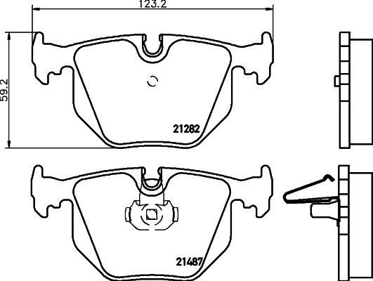 DON PCP1180 | комплект колодок для дисковых тормозов | Купить в интернет-магазине Макс-Плюс: Автозапчасти в наличии и под заказ