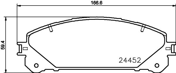 DON PCP1279 | комплект колодок для дисковых тормозов | Купить в интернет-магазине Макс-Плюс: Автозапчасти в наличии и под заказ