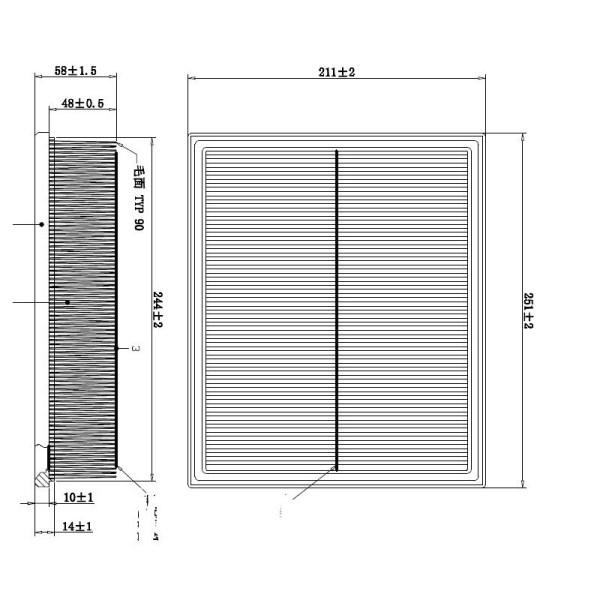 DOUBLE FORCE DFA26168 | Фильтр воздушный DOUBLEFORCE | Купить в интернет-магазине Макс-Плюс: Автозапчасти в наличии и под заказ