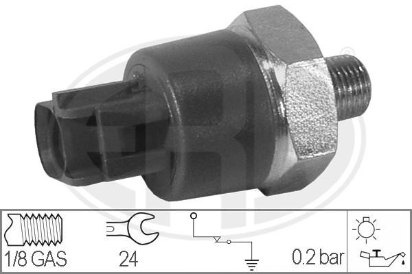 ERA 330022 | Датчик давления масла (пластик разъем) | Купить в интернет-магазине Макс-Плюс: Автозапчасти в наличии и под заказ