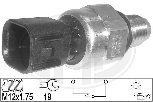 ERA 330812 | Датчик давления масла FORD: C-MAX, FOCUS, FOCUS C-MAX | Купить в интернет-магазине Макс-Плюс: Автозапчасти в наличии и под заказ