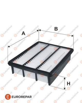 EUROREPAR 1611158380 | Фильтр воздушный | Купить в интернет-магазине Макс-Плюс: Автозапчасти в наличии и под заказ