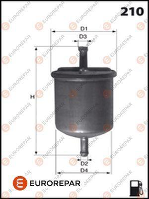 EUROREPAR 1612797980 | Фильтр бензиновый | Купить в интернет-магазине Макс-Плюс: Автозапчасти в наличии и под заказ