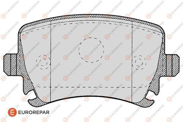 EUROREPAR 1617259180 | E:4 ЗАД Т КОЛ | Купить в интернет-магазине Макс-Плюс: Автозапчасти в наличии и под заказ