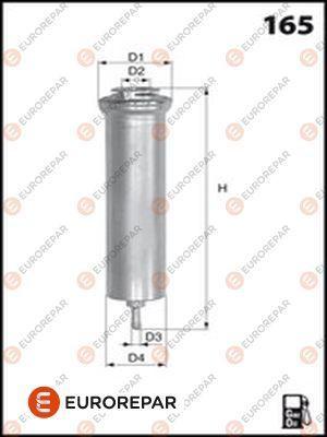 EUROREPAR E148171 | Фильтр дизельного топлива | Купить в интернет-магазине Макс-Плюс: Автозапчасти в наличии и под заказ