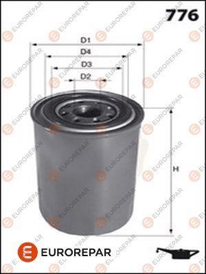 EUROREPAR E149171 | Фильтр масляный | Купить в интернет-магазине Макс-Плюс: Автозапчасти в наличии и под заказ