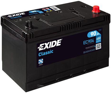 EXIDE EC904   Аккумулятор   Купить в интернет-магазине Макс-Плюс: Автозапчасти в наличии и под заказ