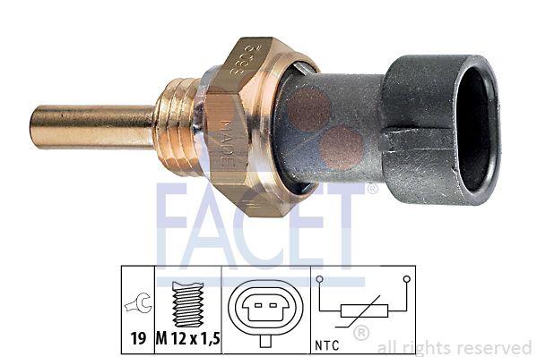 FACET 73098 | Датчик температуры | Купить в интернет-магазине Макс-Плюс: Автозапчасти в наличии и под заказ