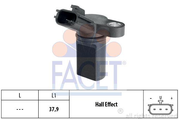 FACET 90453 | 1.953.453 Датчик р.вала Nissan Almera/Primera 1.5-1.8 00- | Купить в интернет-магазине Макс-Плюс: Автозапчасти в наличии и под заказ