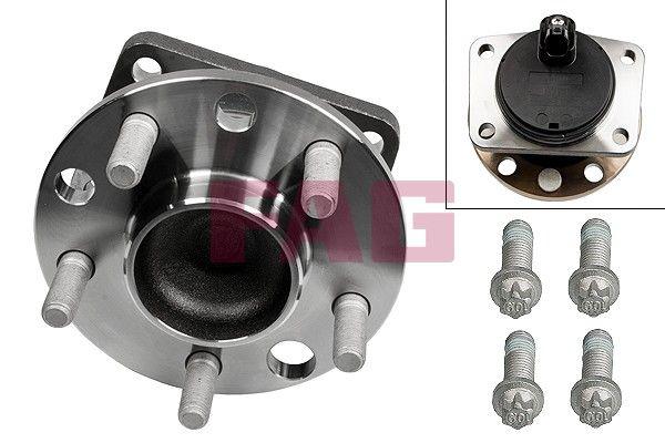 FAG 713678430 | Ступица колеса с интегрированным подшипником | Купить в интернет-магазине Макс-Плюс: Автозапчасти в наличии и под заказ