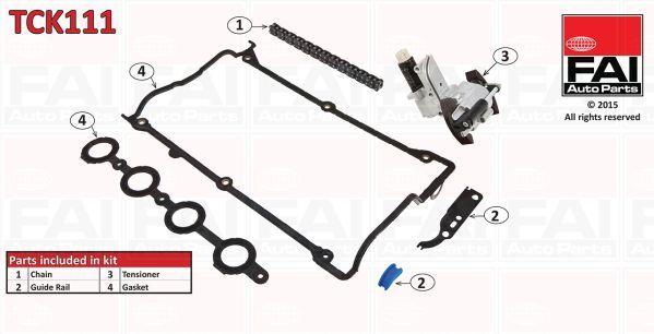 FAI AUTOPARTS TCK111 | Комплект цепи ГРМ | Купить в интернет-магазине Макс-Плюс: Автозапчасти в наличии и под заказ