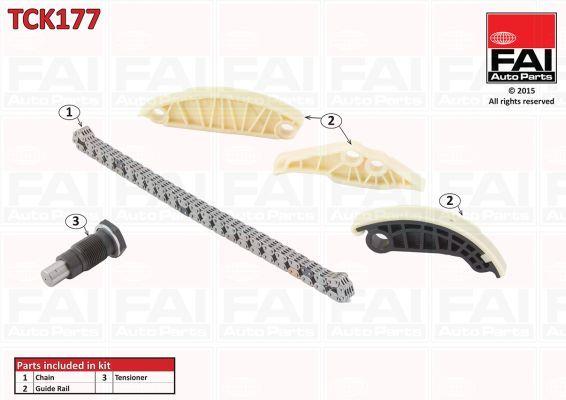 FAI AUTOPARTS TCK177 | Комплект цепи ГРМ | Купить в интернет-магазине Макс-Плюс: Автозапчасти в наличии и под заказ