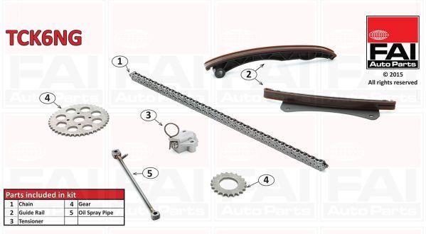 FAI AUTOPARTS TCK6NG | Комплект цепи ГРМ | Купить в интернет-магазине Макс-Плюс: Автозапчасти в наличии и под заказ