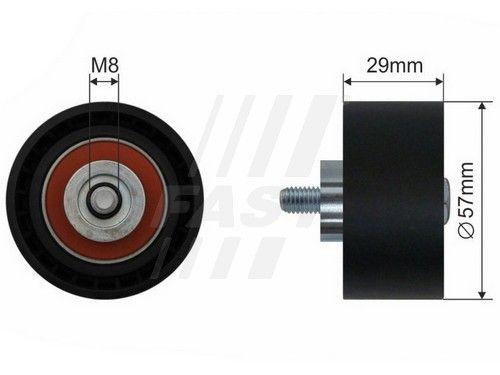 FAST FT44017 | Ролик ГРМ Alfa Romeo 145/146/147/156/166 1.4-2.0 16v, Fiat Brava, Marea 1.8 16V | Купить в интернет-магазине Макс-Плюс: Автозапчасти в наличии и под заказ