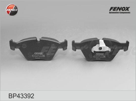 FENOX BP43392 | Колодки торм.пер. | Купить в интернет-магазине Макс-Плюс: Автозапчасти в наличии и под заказ