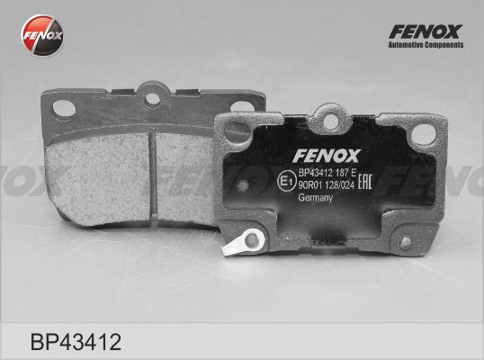 FENOX BP43412 | Колодки торм.зад. | Купить в интернет-магазине Макс-Плюс: Автозапчасти в наличии и под заказ