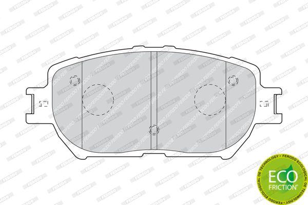 FERODO FDB1620 | D2222-01=884 00=Y02-2817 !колодки дисковые п.\ Toyota Camry 2.4WT-i/3.0i 01> | Купить в интернет-магазине Макс-Плюс: Автозапчасти в наличии и под заказ