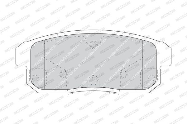 FERODO FDB1759 | Тормозные колодки дисков. MAZDA RX 8 03-, SUZUKI IGNIS 00-03, IGNIS II 03-, | Купить в интернет-магазине Макс-Плюс: Автозапчасти в наличии и под заказ