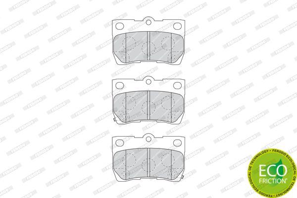 FERODO FDB4001 | 1181 02 [0446622190] !колодки дисковые з.\ Lexus GS 300/430 05> | Купить в интернет-магазине Макс-Плюс: Автозапчасти в наличии и под заказ