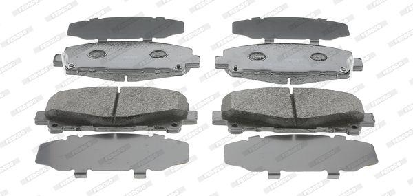 FERODO FDB4270 | колодки дисковые п.\ Honda Accord 2.0/2.4 08> | Купить в интернет-магазине Макс-Плюс: Автозапчасти в наличии и под заказ