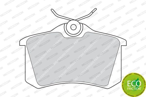 FERODO FDB541 | Колодки зад.AUD A2,A3,A4,A6,A8,ALLROAD,TT/FORD GALAXY/VW BORA,GOLF,PASSAT,SHARAN/SKODA WVA20961 | Купить в интернет-магазине Макс-Плюс: Автозапчасти в наличии и под заказ