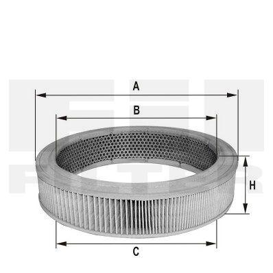 FIL FILTER HPU902 | Воздушный фильтр | Купить в интернет-магазине Макс-Плюс: Автозапчасти в наличии и под заказ