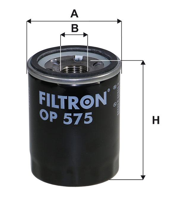 FILTRON OP575 | ФильтрмасляныйOP575 | Купить в интернет-магазине Макс-Плюс: Автозапчасти в наличии и под заказ